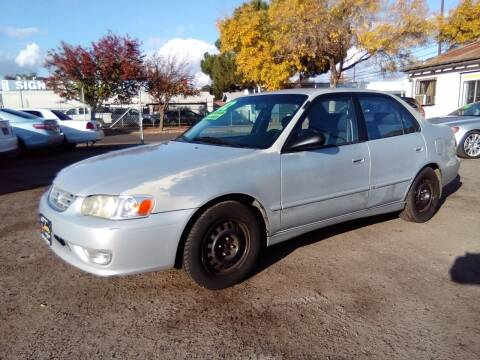 2002 Toyota Corolla for sale at Larry's Auto Sales Inc. in Fresno CA