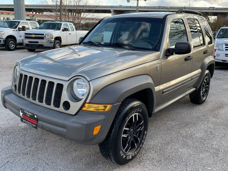2006 Jeep Liberty for sale at M & J Motor Sports in New Caney TX
