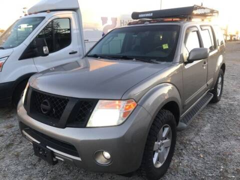 2008 Nissan Pathfinder for sale at BILLY HOWELL FORD LINCOLN in Cumming GA