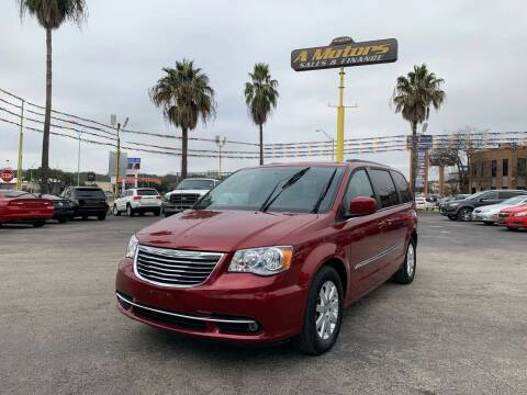 2015 Chrysler Town and Country for sale at A MOTORS SALES AND FINANCE in San Antonio TX