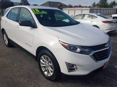 2018 Chevrolet Equinox for sale at Cooley Auto Sales in North Liberty IA