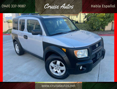 2003 Honda Element for sale at Cruise Autos in Corona CA