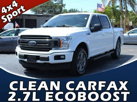 2020 Ford F-150 for sale at Palm Beach Auto Wholesale in Lake Park FL