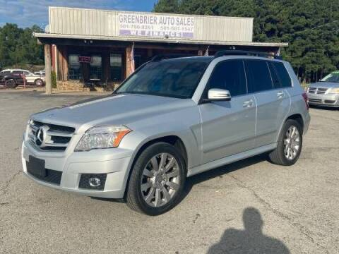 2011 Mercedes-Benz GLK for sale at Greenbrier Auto Sales in Greenbrier AR