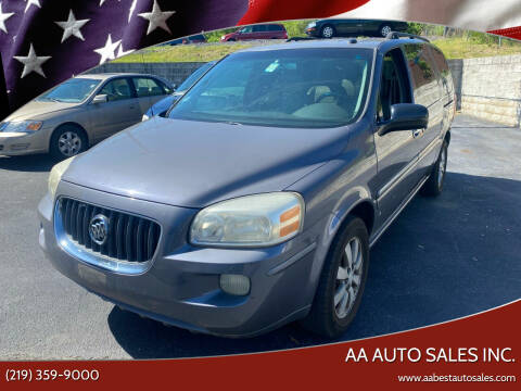 2007 Buick Terraza for sale at AA Auto Sales Inc. in Gary IN