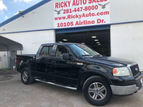 2004 Ford F-150 for sale at Ricky Auto Sales in Houston TX