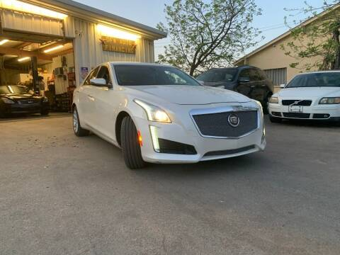 2014 Cadillac CTS for sale at DFW AUTO FINANCING LLC in Dallas TX