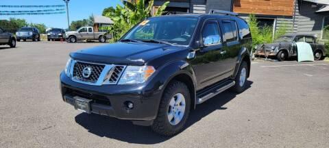 2012 Nissan Pathfinder for sale at Persian Motors in Cornelius OR