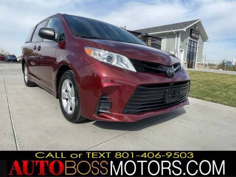 2019 Toyota Sienna for sale at Auto Boss in Woods Cross UT