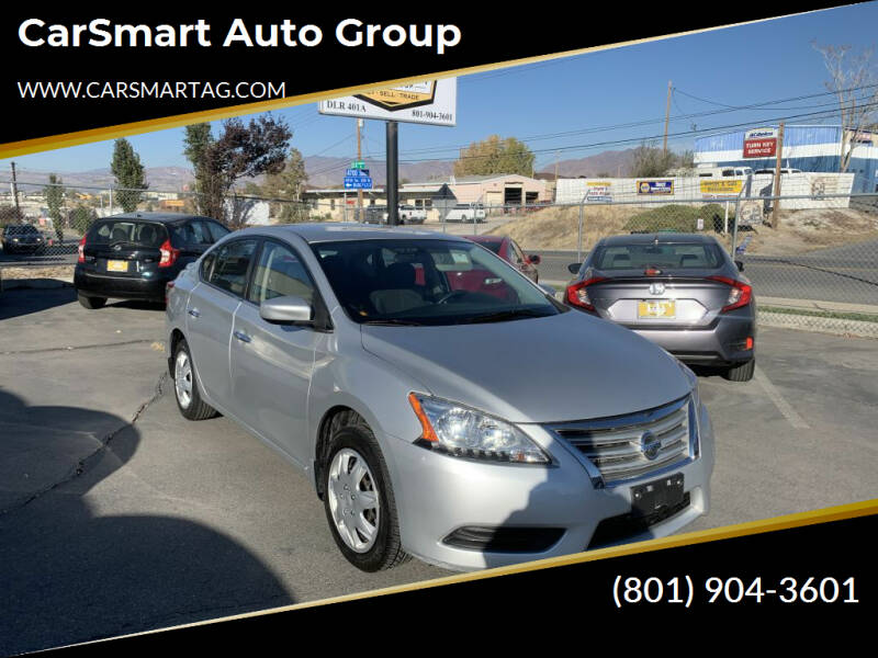 2014 Nissan Sentra for sale at CarSmart Auto Group in Murray UT
