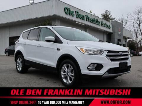 2017 Ford Escape for sale at Ole Ben Franklin Mitsbishi in Oak Ridge TN