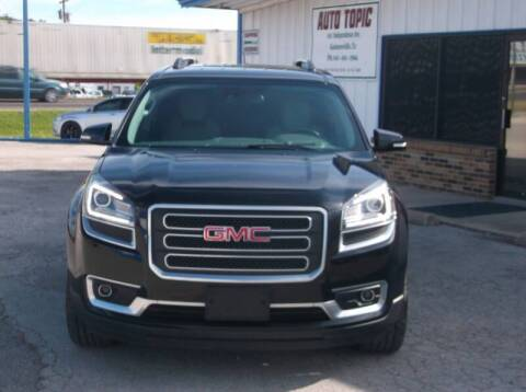2017 GMC Acadia Limited for sale at AUTO TOPIC in Gainesville TX