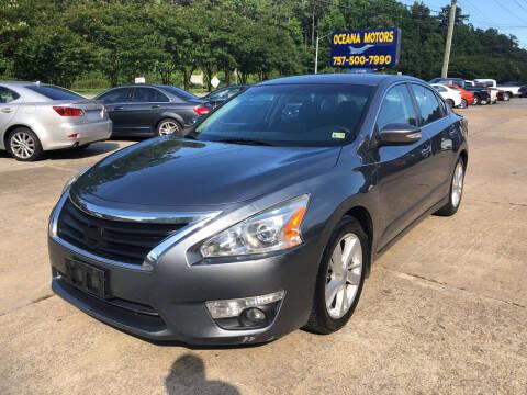 2015 Nissan Altima for sale at Oceana Motors in Virginia Beach VA