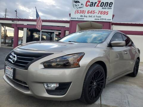 2014 Nissan Altima for sale at CarZone in Marysville CA