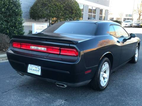 2010 Dodge Challenger for sale at Weaver Motorsports Inc in Cary NC