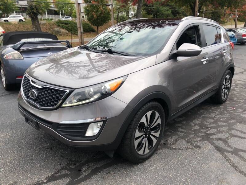 2011 Kia Sportage for sale at Premier Automart in Milford MA
