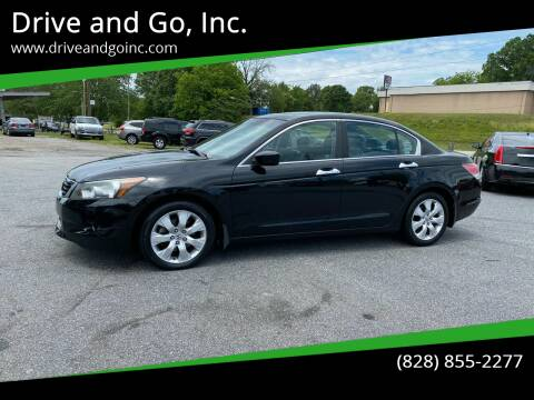 2009 Honda Accord for sale at Drive and Go, Inc. in Hickory NC