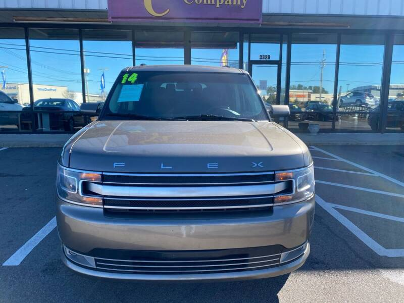 2014 Ford Flex for sale at East Carolina Auto Exchange in Greenville NC