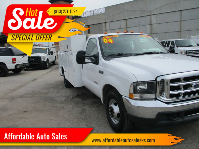 2004 Ford F-350 Super Duty for sale at Affordable Auto Sales in Olathe KS