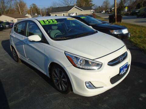 2015 Hyundai Accent for sale at DISCOVER AUTO SALES in Racine WI