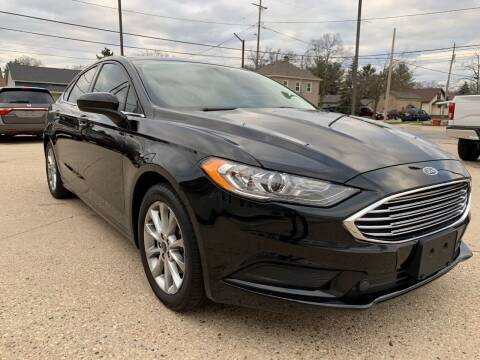 2017 Ford Fusion for sale at Auto Gallery LLC in Burlington WI