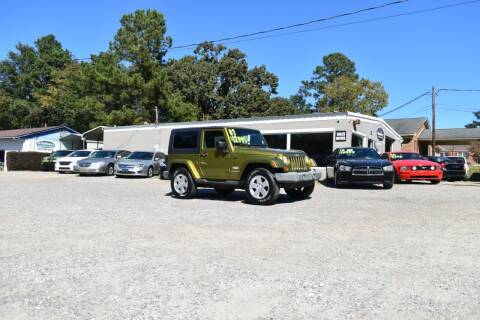 2007 Jeep Wrangler for sale at Barrett Auto Sales in North Augusta SC