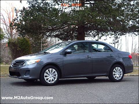 2013 Toyota Corolla for sale at M2 Auto Group Llc. EAST BRUNSWICK in East Brunswick NJ