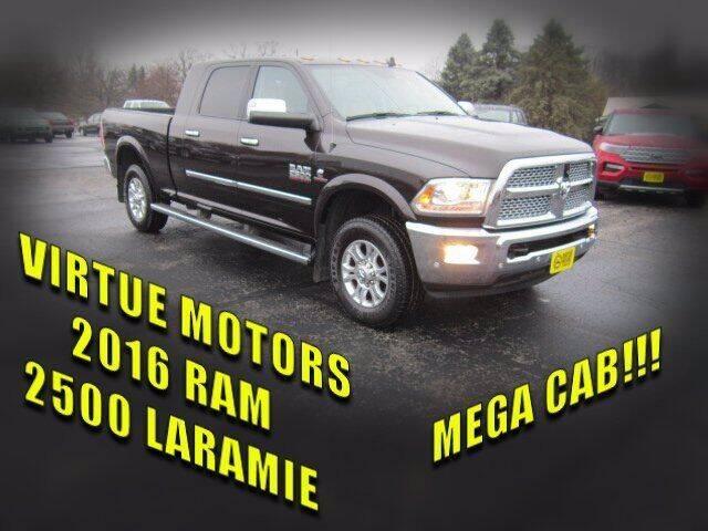 2016 RAM Ram Pickup 2500 for sale at Virtue Motors Used in Darlington WI