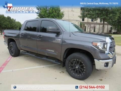 2018 Toyota Tundra for sale at HOPPER MOTORPLEX in Mckinney TX