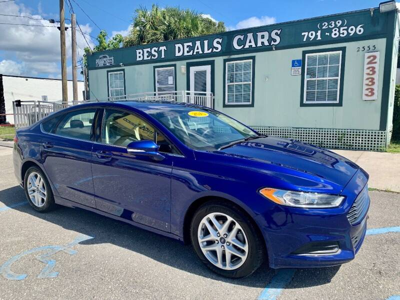 2015 Ford Fusion for sale at Best Deals Cars Inc in Fort Myers FL