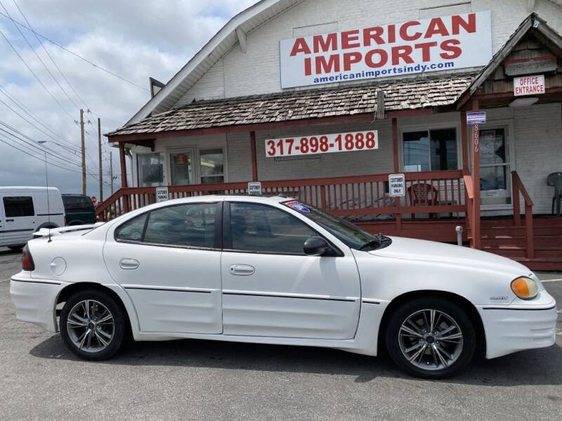 2003 Pontiac Grand Am for sale at American Imports INC in Indianapolis IN