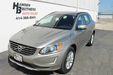 2015 Volvo XC60 for sale at HANSEN BROTHERS AUTO SALES in Milwaukee WI
