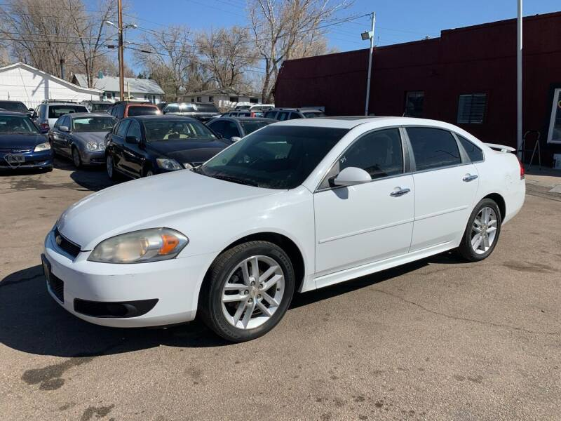 2012 Chevrolet Impala for sale at B Quality Auto Check in Englewood CO
