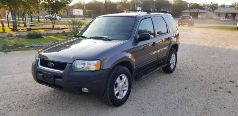 2003 Ford Escape for sale at STX Auto Group in San Antonio TX