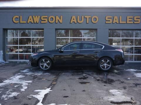 2010 Acura TL for sale at Clawson Auto Sales in Clawson MI