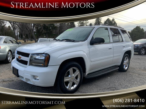 2008 Chevrolet TrailBlazer for sale at Streamline Motors in Billings MT
