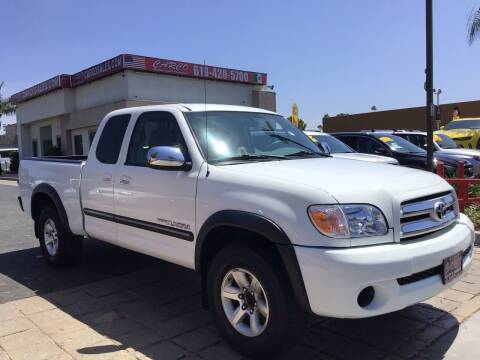 2005 Toyota Tundra for sale at CARCO SALES & FINANCE - CARCO OF POWAY in Poway CA