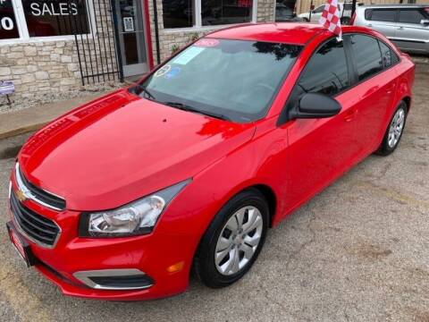 2015 Chevrolet Cruze for sale at GOL Auto Group in Austin TX