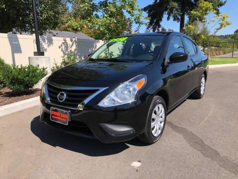 2016 Nissan Versa for sale at Matthews Motors LLC in Auburn WA