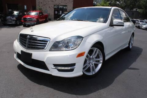 2012 Mercedes-Benz C-Class for sale at Atlanta Unique Auto Sales in Norcross GA
