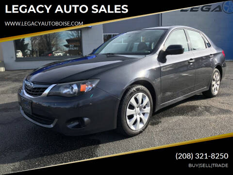 2008 Subaru Impreza for sale at LEGACY AUTO SALES in Boise ID