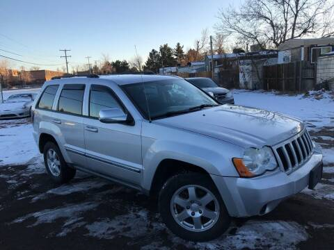 2008 Jeep Grand Cherokee for sale at 3-B Auto Sales in Aurora CO