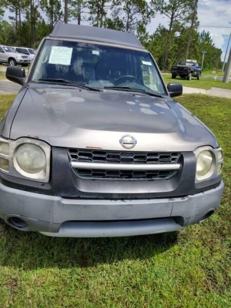 2003 Nissan Xterra for sale at MOTOR VEHICLE MARKETING INC in Hollister FL