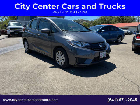 2017 Honda Fit for sale at City Center Cars and Trucks in Roseburg OR