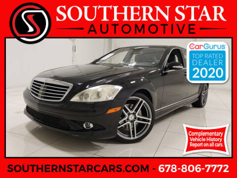 2007 Mercedes-Benz S-Class for sale at Southern Star Automotive, Inc. in Duluth GA