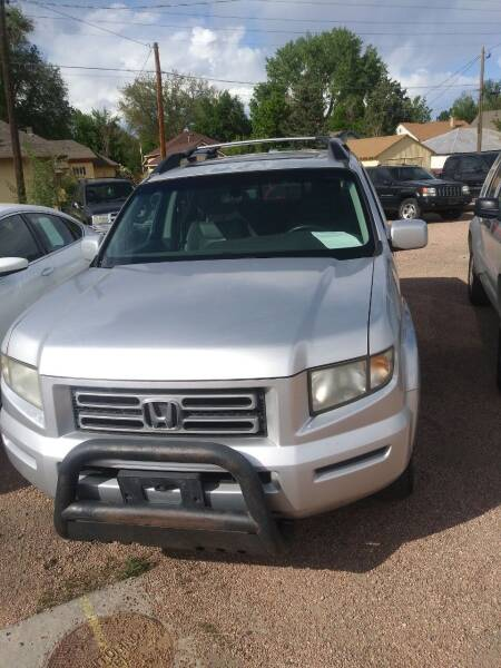 2007 Honda Ridgeline for sale at PYRAMID MOTORS AUTO SALES in Florence CO