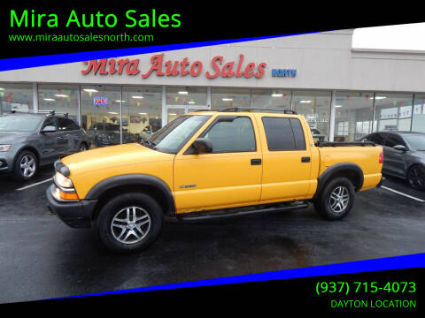2004 Chevrolet S-10 for sale at Mira Auto Sales in Dayton OH