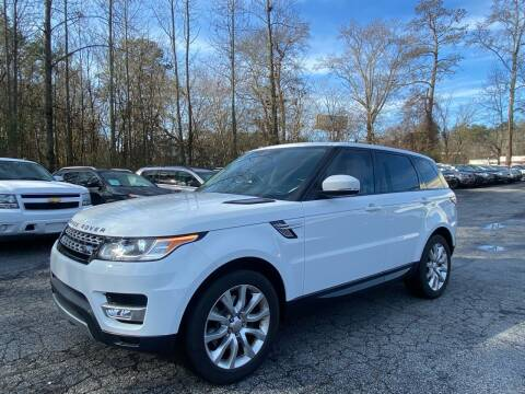 2014 Land Rover Range Rover Sport for sale at Car Online in Roswell GA