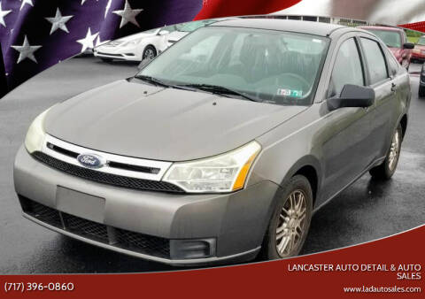 2009 Ford Focus for sale at Lancaster Auto Detail & Auto Sales in Lancaster PA