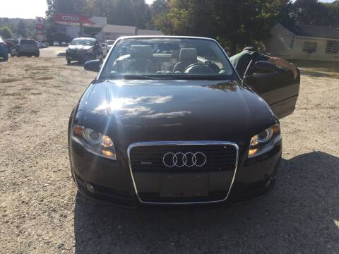 2007 Audi A4 for sale at Sorel's Garage Inc. in Brooklyn CT